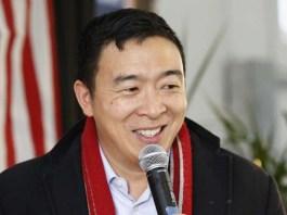 Democratic presidential candidate and entrepreneur Andrew Yang