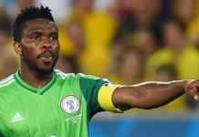 Joseph Yobo was the last Nigerian man to captain the Super Eagles to Africa Cup of Nations success