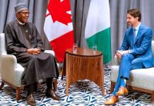 President Muhammadu Buhari and PM Trudeau held talks to strengthen ties
