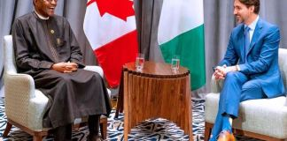 President Muhammadu Buhari and PM Trudeau held talks to strengthen ties