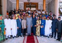 President Muhammadu Buhari in Ethiopia says he is not against Diaspora voting