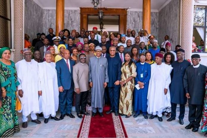 President Muhammadu Buhari in Ethiopia says he is not against Diaspora voting
