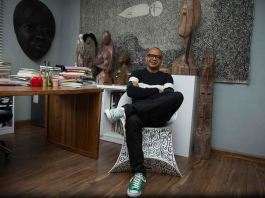 Renowned artist Victor Ehikhamenor turns 50