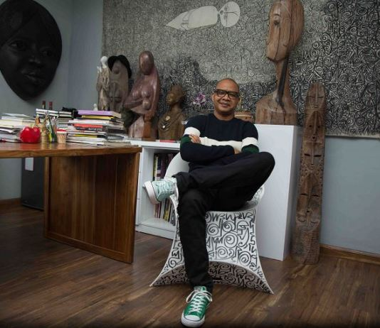 Renowned artist Victor Ehikhamenor turns 50