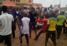 Three people are feared dead following violent protests against Okada ban