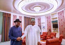 Governor Diri of Bayelsa and President Muhammadu Buhari