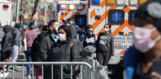 Hospitals across the US are under intense pressure because of the outbreak