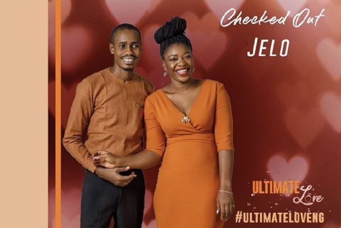 Jelo has checked out of Ultimate Love