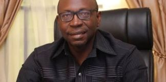 Pastor Osagie Ize-Iyamu is being tried for money laundering