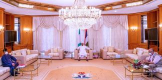 President Muhammadu Buhari received coronavirus update from the Health Minister and the NCDC DG