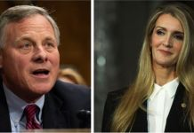 Richard Burr is chairman of the Senate Intelligence Committee while Kelly Loeffler sits on the Senate Health Committee