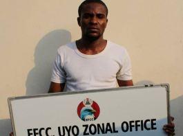 Abasiama Essien Ekopimoh alias Foster Scolt was jailed for internet fraud