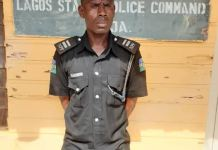 Inspector Taloju Martin of Ago Police Station arrested for extortion