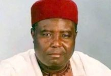 Modu Sheriff, the father of a former governor of Borno State, Ali Sheriff