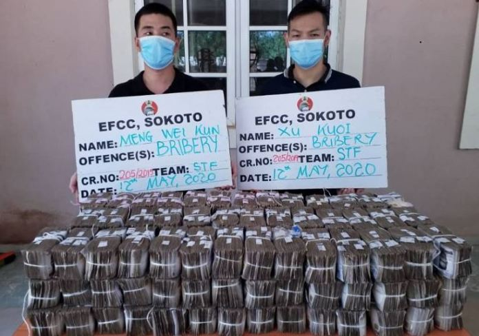 EFCC arrests two Chinese citizens who attempted to arrest Sokoto zonal head, Abdullahi Lawal