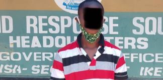 Olufowoke Oladunjoye Emmanuel was arrested as the mastermind behind Queen Salawa Abeni nudes