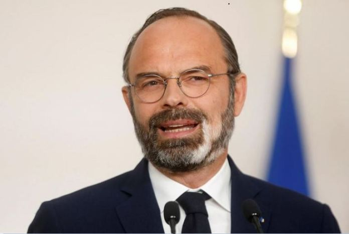 Prime Minister Edouard Philippe says The only way to live is to protect ourselves