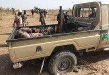 Slain Boko Haram fighters killed in a gun truck