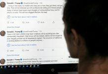 """Twitter targeted two tweets the president posted on Tuesday in which he contended without evidence that mail-in voting would lead to fraud and a """"Rigged Election"""""""