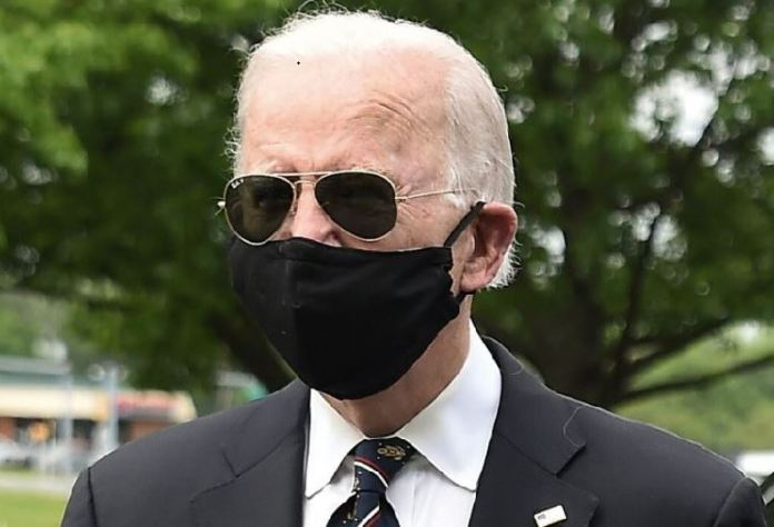 Vice President Joe Biden wore a face mask on Memorial Day kamala harris