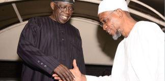 Asiwaju Bola Tinubu and Ogbeni Rauf Aregbesola