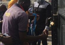 FCTA officials sealing Jabi Lake Mall