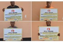 Internet fraudsters have been jailed by an Abeokuta court