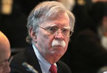 John Bolton was former National Security Adviser to President Trump