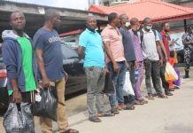 Nine illegal oil dealers