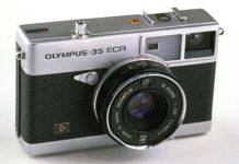 Olympus was a major player in the film and early digital days, with products like this 1970s 35mm camera