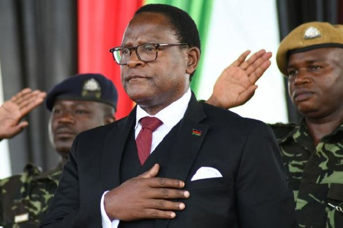 Lazarus Chakwera has been sworn in as President of Malawi