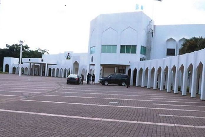 Presidential Villa store gutted by fire