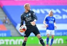 Kasper Schmeichel saved his fifth Premier League penalty
