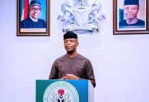 Vice President Yemi Osinbajo has announced take off fund for Community Policing