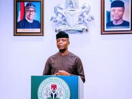Vice President Yemi Osinbajo has announced take off fund for Community Policing Whistleblowing