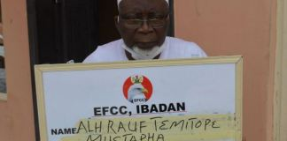 Alhaji Sheik Rauf Temitope Mustapha arrested for land fraud court