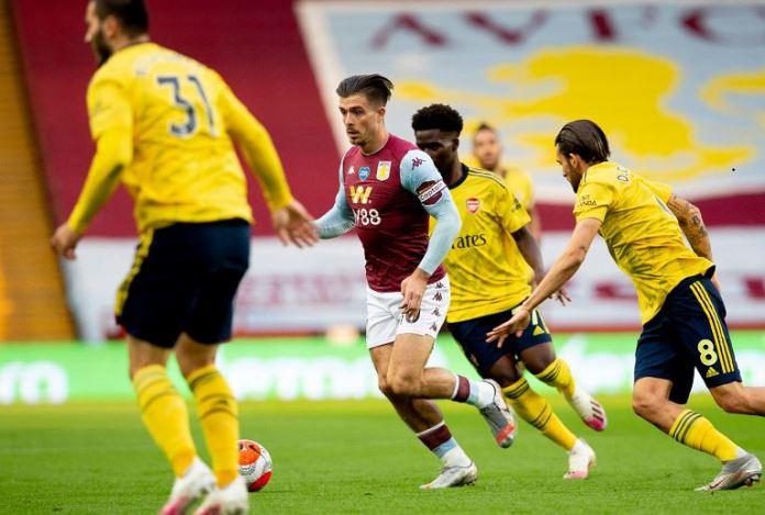 Aston Villa captain Jack Grealish put in a superb performance on the night