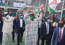 Governor Godwin Obaseki formally launched his PDP governorship campaign on 25 July 2020