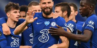 Olivier Giroud scored the winner as Chelsea beat Wolves 2-0 at Stamford Bridge