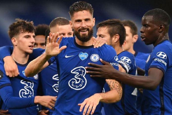 Olivier Giroud scored the winner as Chelsea beat Wolves 2-0 at Stamford Bridge