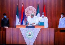 President Muhammadu Buhari signs Police Bill 2020 supplementary budget