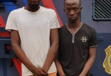 RRS arrests two traffic robbers in Lagos