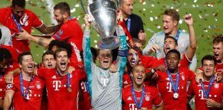 Bayern Munich beat PSG 1-0 to claim their sixth UEFA Champions League