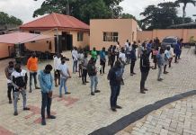 EFCC parades three corp members, 19 undergraduates and 10 others