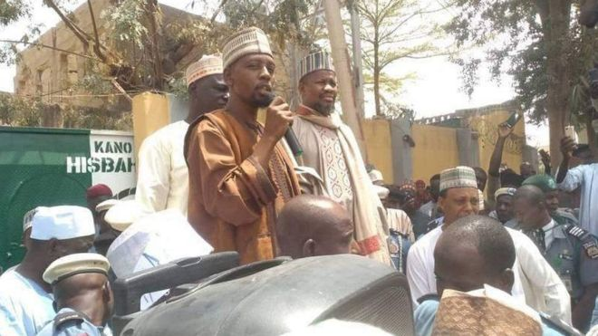 Yahaya Sharif-Aminu was handed the death sentence by a Sharia court Muslim lawyers