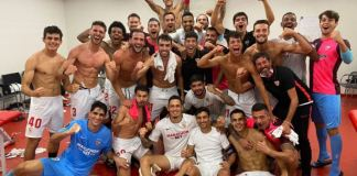 Sevilla knocked Manchester United out of the Europa League