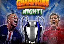 UEFA Champions League final PSG vs Bayern Munich