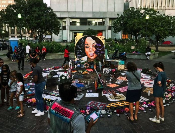 Breonna Taylor's killing was protested widely in the United States
