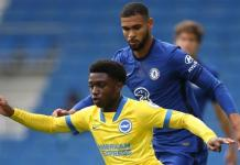 Brighton and Chelsea drew 1-1 in a friendly at the Amex Stadium in late August