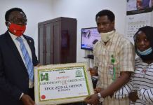 EFCC received Sir Ahmadu Bello's Certificate of Credence from the Association of Northern Nigeria Students